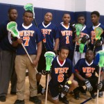 West Philly Players with Headstring Sticks